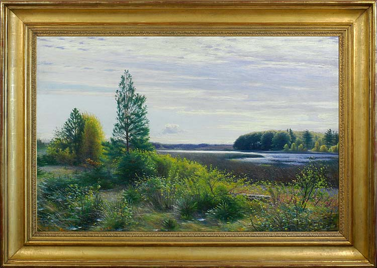 SIGVARD HANSEN Bøgholm Lake in autumn