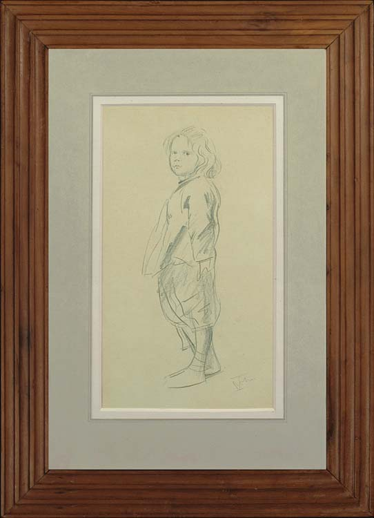 AUGUSTUS JOHN Drawing of Pyramus John