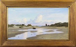 ALFRED OLSEN Coastal landscape in Denmark