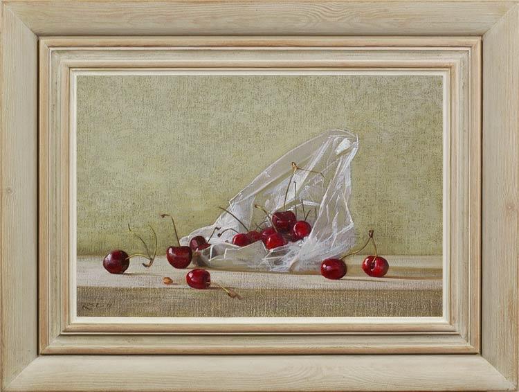STEPHEN ROSE A bag of cherries